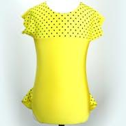 Spotty Yellow Leotard
