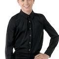Male Dance Shirt - Black