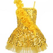 Gold Jazz Dress