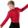Male Dance Shirt - Red