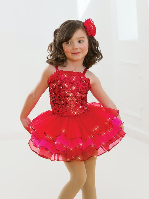 Cherry Sparkle Tutu Ballet costume for hire