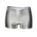 Metallic Silver Hotpants