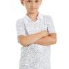 Male Sequin Dance Shirt - White