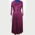 Burgundy Lyrical Dress