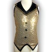 Gold Sparkle Waistcoat