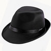 Trilby Hat - Black