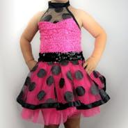 Pink Polkadot Tutu