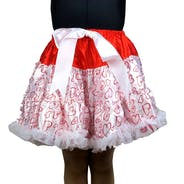 Red Heart Skirt