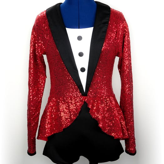 Ringmaster Modern and Tap costume for hire