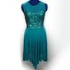 Teal Lyrical Dress