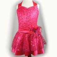 Pink Halterneck Dress