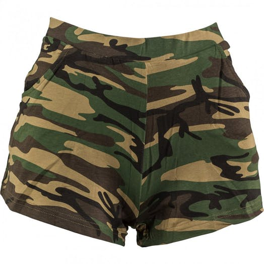 Camouflage Hotpants Modern and Tap costume for hire